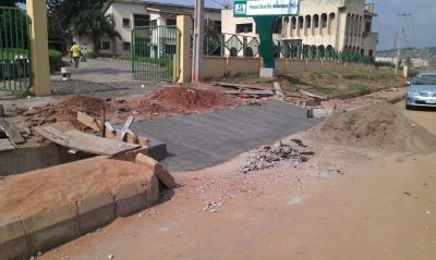 Renovation of Mutual Benefits Assurance Plc, Onireke [Fencework + Gate House]