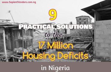 Housing Deficits in Nigeria