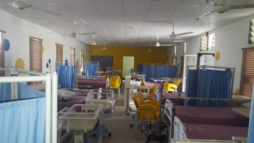 Renovation Works on the Maternal Ward Upgrade Project for JNC International Ltd