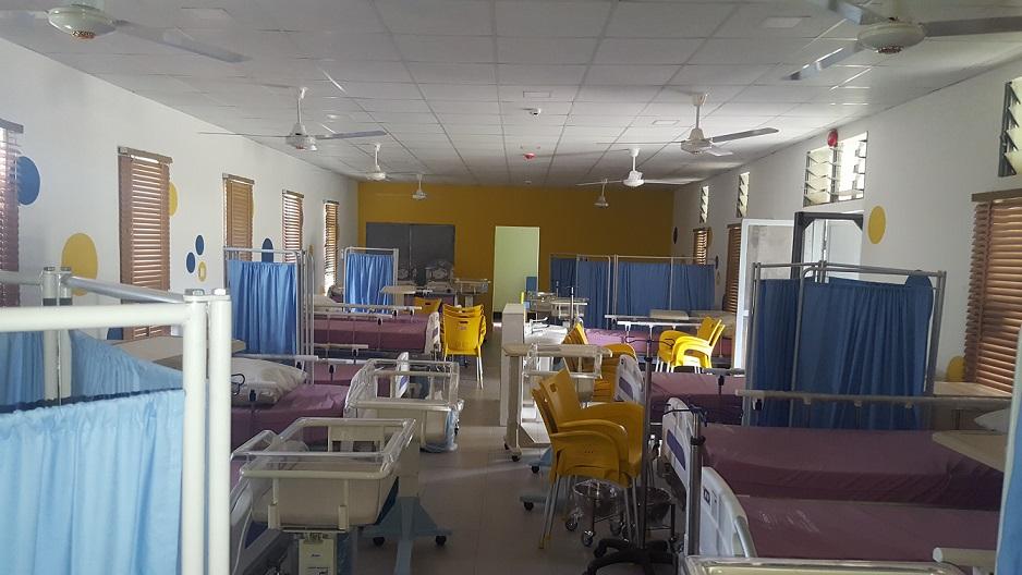 Renovation Works on the Maternal Ward Upgrade Project for JNC International Ltd