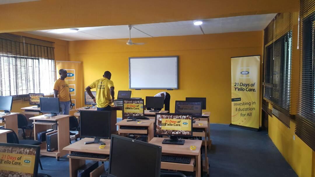 Refurbishment of ICT Laboratory at Eko Akete Senior Grammar School