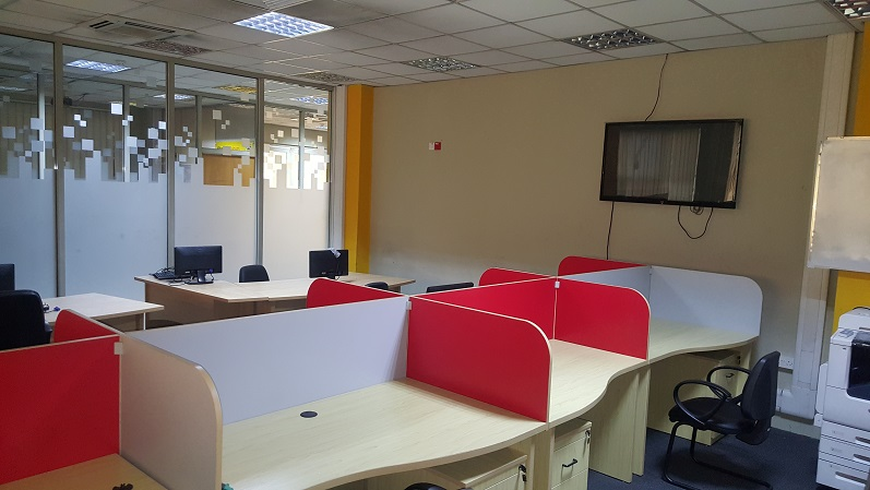 Office Creation at Ground floor, Yello drome Annexe for MTN